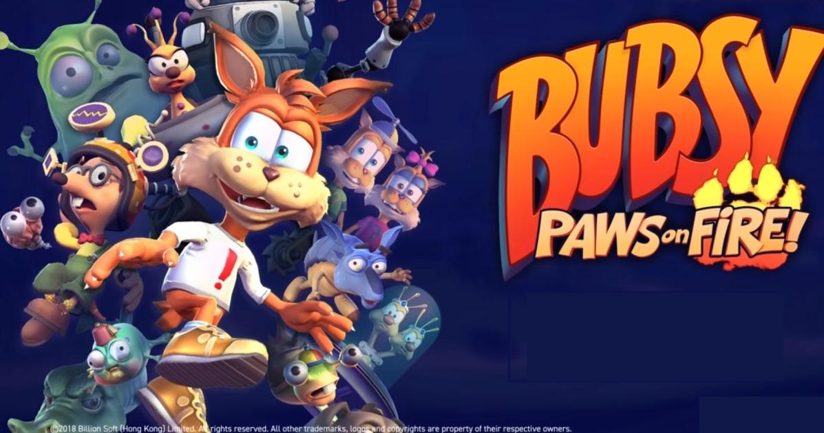 Bubsy: Paws on Fire! chega em agosto no Nintendo Switch