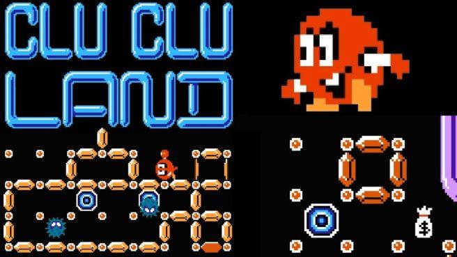 [Switch] Arcade Archives Clu Clu Land chega nesta semana