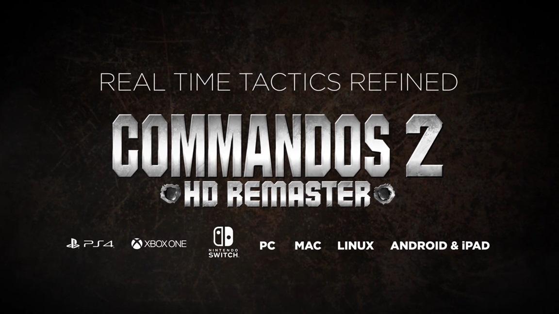 Kalypso Media anuncia o jogo de tática em tempo real Commandos 2 HD Remaster para o Nintendo Switch