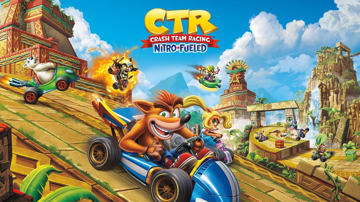 Crash Team Racing Nitro-Fueled ganha trailer com gameplay para a versão de Nintendo Switch