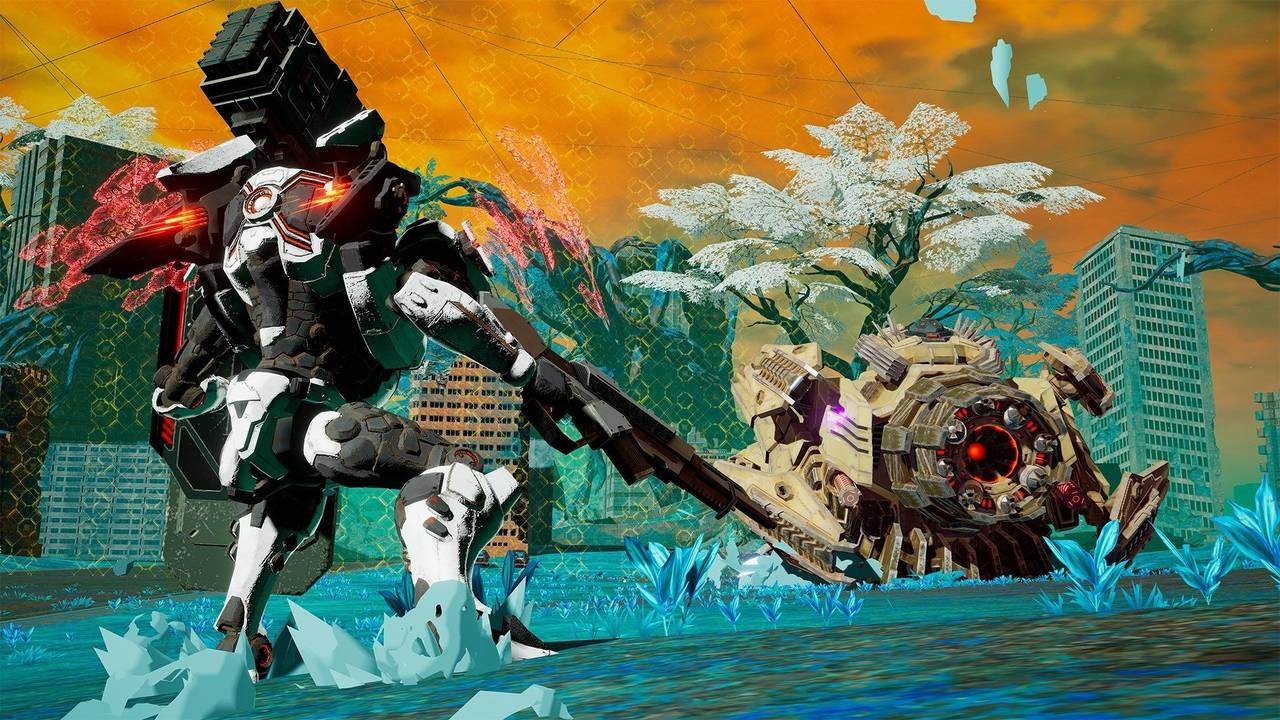 [Switch] Daemon X Machina terá atualização após seu lançamento onde irá adicionar o modo multiplayer competitivo; Arte de capa revelada