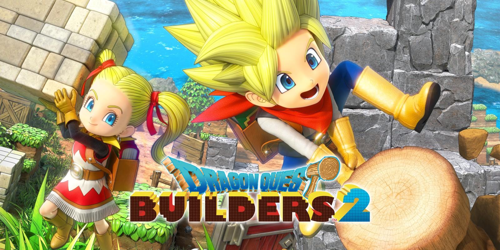 [Switch] Dragon Quest Builders 2 ganhará demo na eShop no dia 27 de junho; Novo trailer para a E3 2019