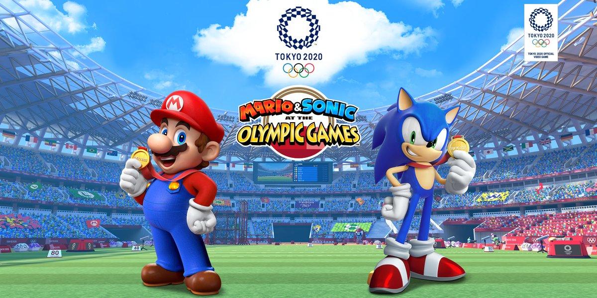 [Switch] Mario & Sonic at the Tokyo 2020 Olympic Games chega em novembro; Confira o primeiro trailer