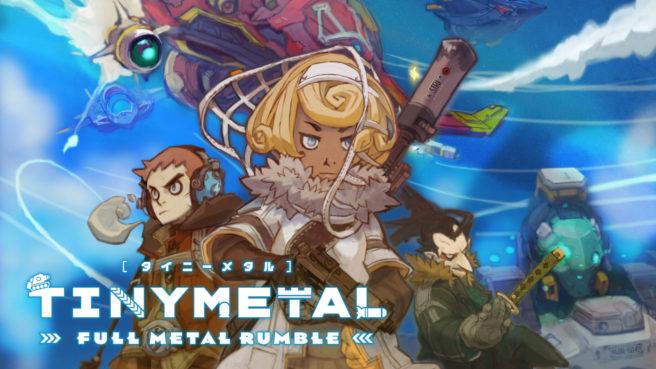[Switch] Tiny Metal: Full Metal Rumble ganha data de lançamento, Demo chega dia 08 de julho; Trailer