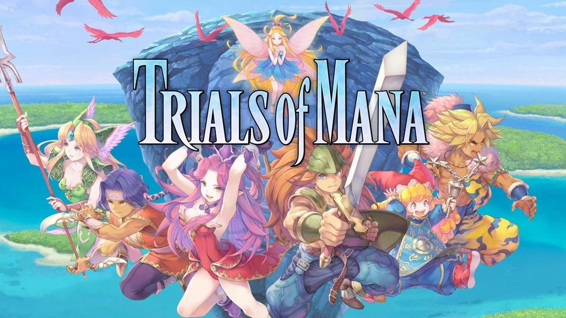 Square Enix anuncia Trials of Mana para o Nintendo Switch; Collection of Mana vindo para o ocidente através da eShop