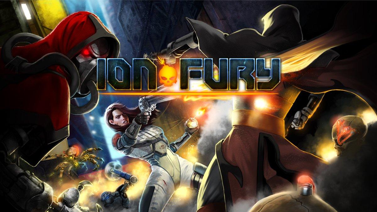 [Switch] Ion Maiden muda de nome e agora se chama Ion Fury; Trailer