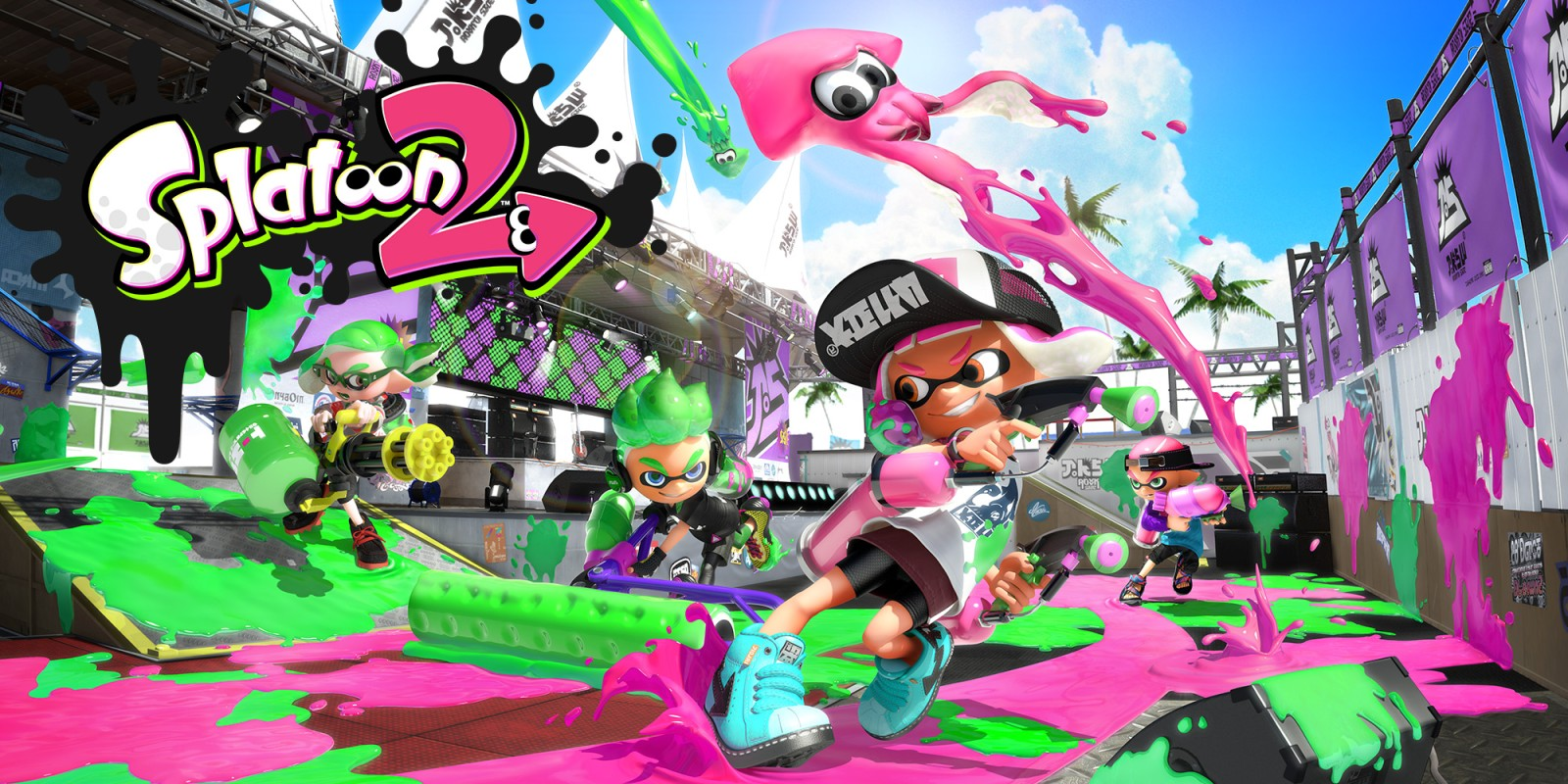 Canal NT Project anuncia a torneio de Splatoon 2 Booyah Booyah Tournament 4° Edição