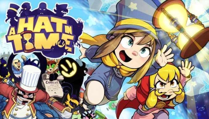 Amazon Espanha lista versão física para os jogos A Hat in Time e Slay the Spire para o Nintendo Switch
