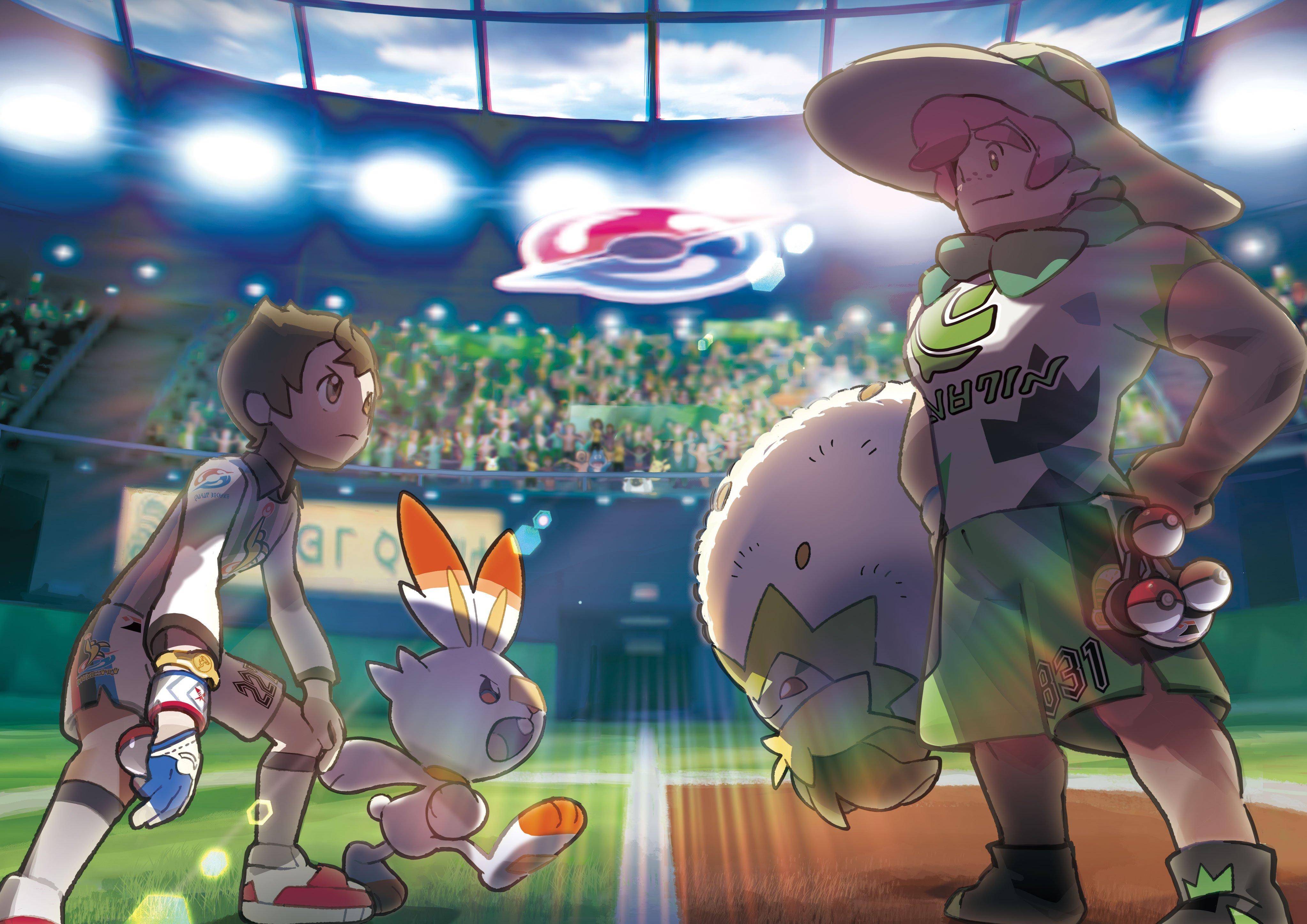 Pokémon Sword/Shield – Nova mecânica Gigantamax é revelada, novos Pokémon, gym leaders e mais