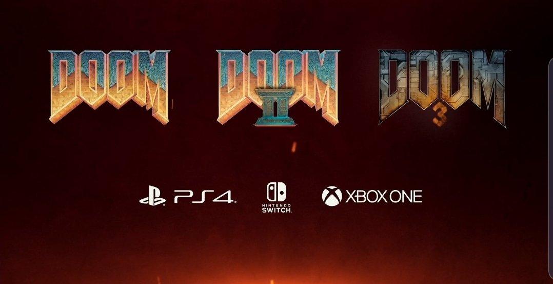 Ports de DOOM, DOOM II e DOOM 3 no Switch exigem que os jogadores façam login em uma conta Bethesda.net