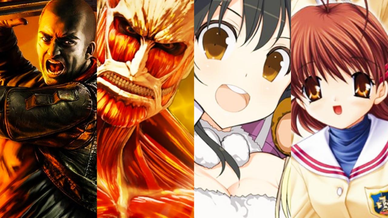 [Switch] Jogos em formato físico da semana – Senran Kagura Peach Ball, Attack on Titan 2: Final Battle, Red Faction Guerrilla Re-Mars-tered e mais