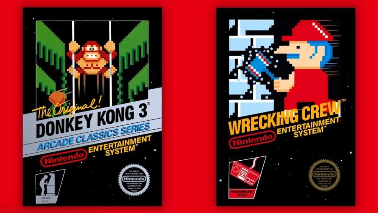 Donkey Kong 3 e The Wrecking Crew serão os jogos do mês de julho para os assinantes do Nintendo Switch Online