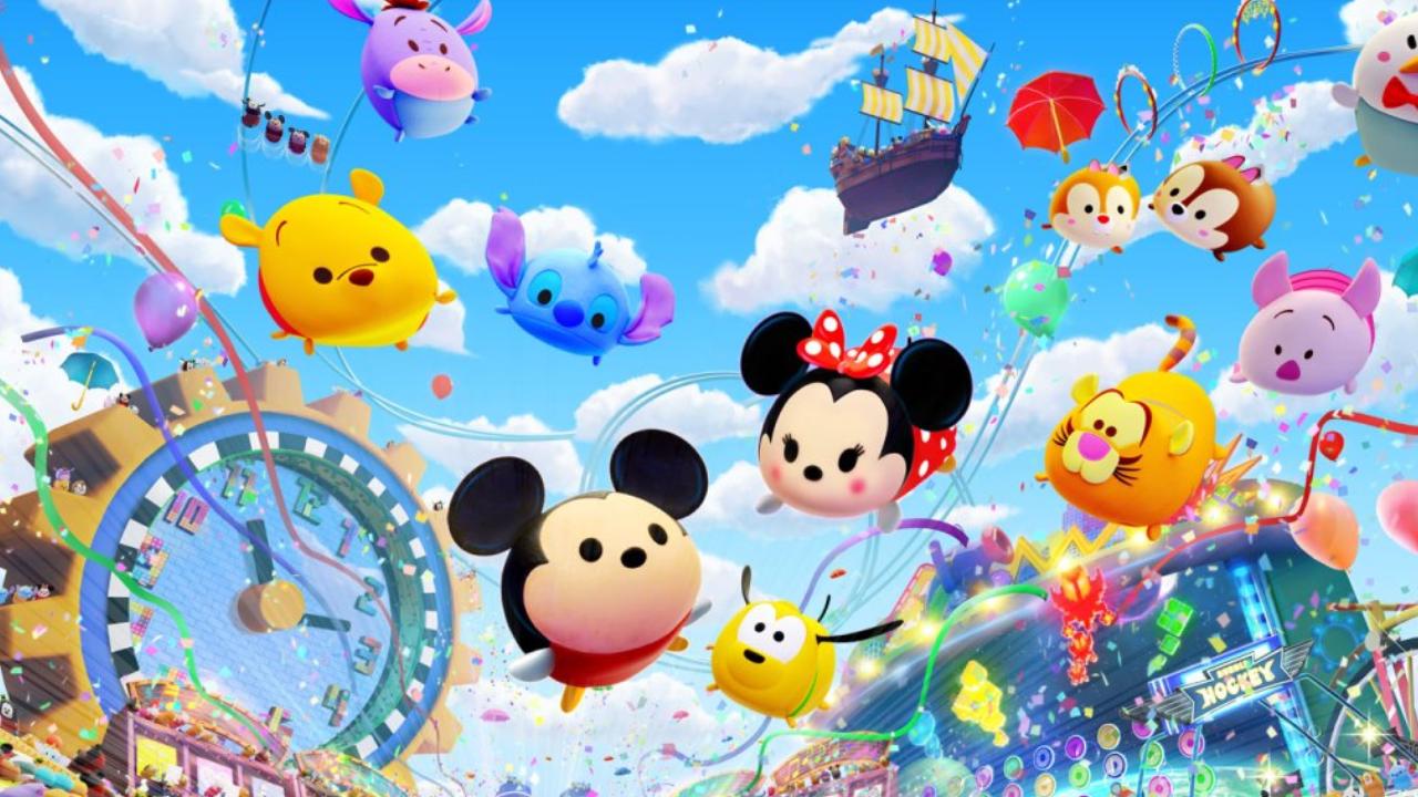 Disney Tsum Tsum Festival requer um par de Joy-Con caso o jogue no Nintendo Switch Lite
