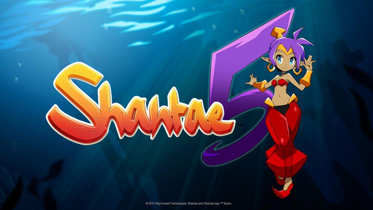 Studio Trigger está trabalhando na animação de abertura de Shantae 5