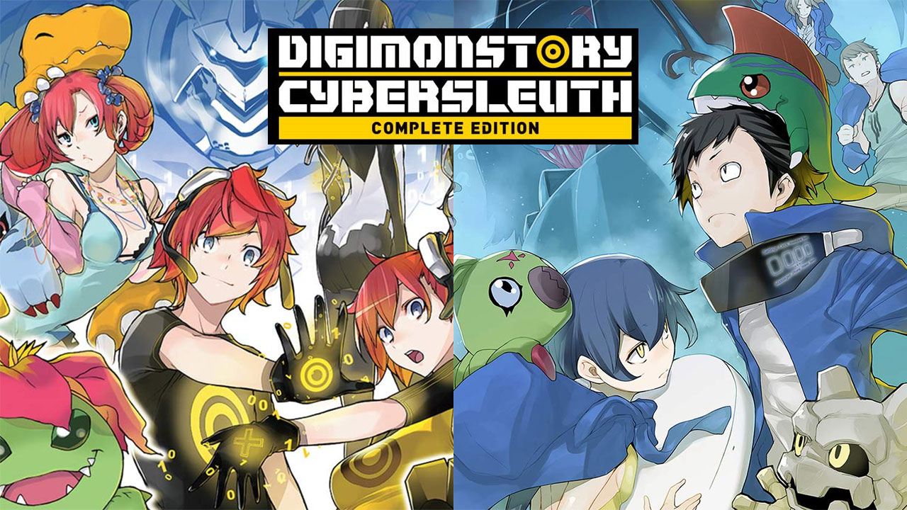 Bandai Namco anuncia Digimon Story: Cyber Sleuth: Complete Edition para o Nintendo Switch
