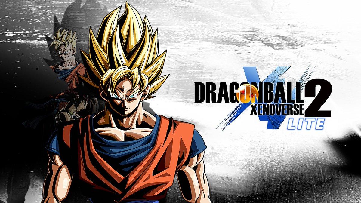 Dragon Ball Xenoverse 2 Lite, uma versão free-to-play do jogo está vindo para o Nintendo Switch