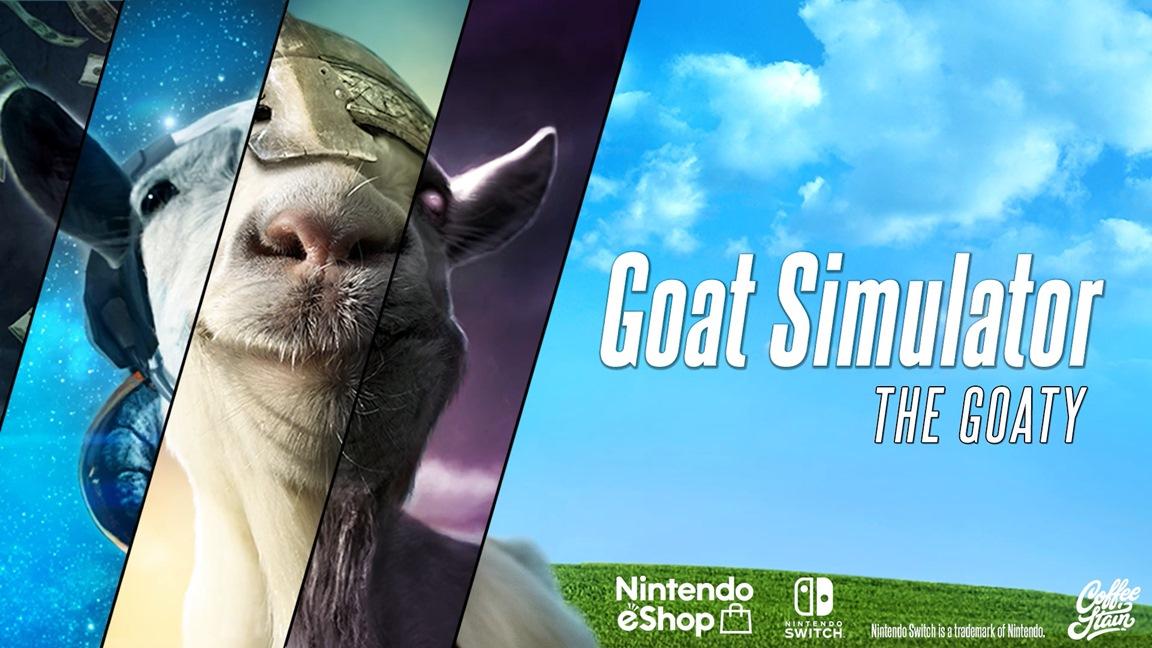 Amazon Alemanha lista versão física de Goat Simulator: The GOATY para o Nintendo Switch
