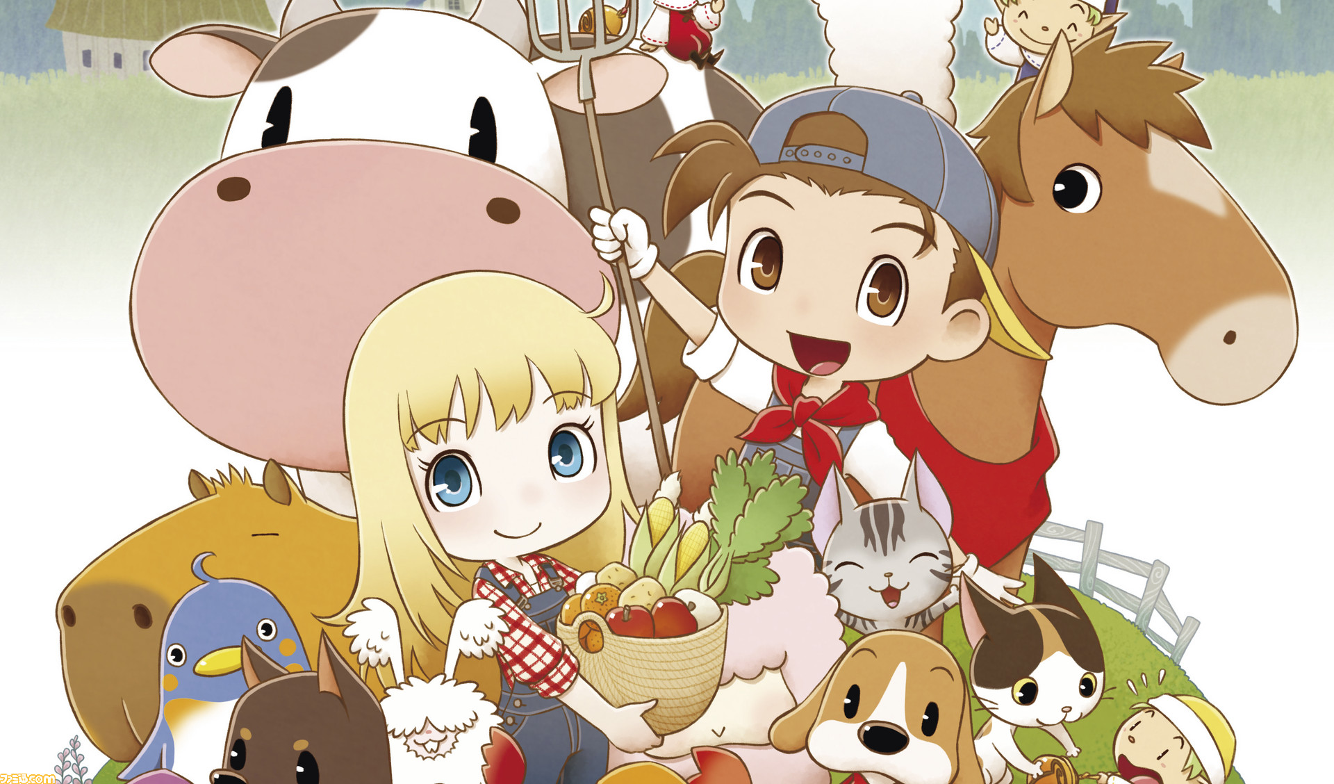 Marvelous anuncia remake de Harvest Moon: Friends of Mineral Town para o Nintendo Switch