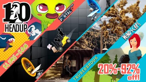 Headup Games 10th Anniversary Sale – Vários jogos com até 90% de desconto na eShop do Nintendo Switch