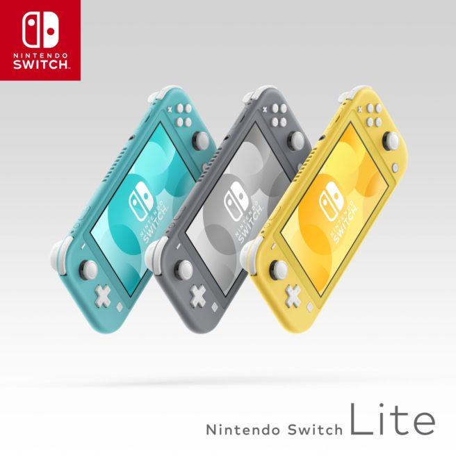 Comparação entre os modelos Nintendo Switch e Nintendo Switch Lite: Bateria mais longa, tela menor, console mais leve