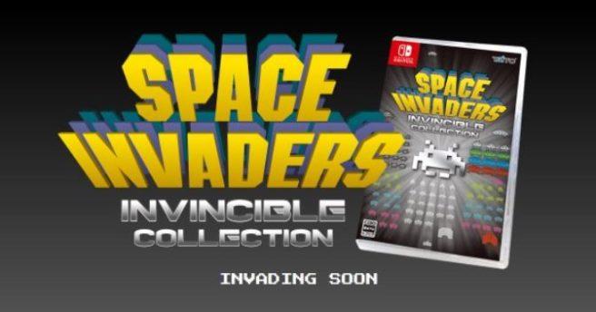 [Switch] Space Invaders: Invincible Collection ganha data de lançamento no Japão