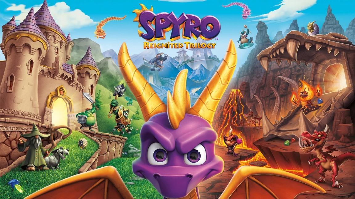 [Switch] Spyro Reignited Trilogy já está disponível para pré-download na eShop; Tamanho do arquivo é revelado