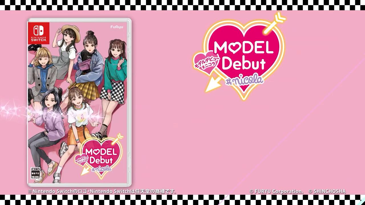 [Switch] Jogo de simulação de modelo Model Debut #Nicola ganha teaser trailer e primeiros detalhes