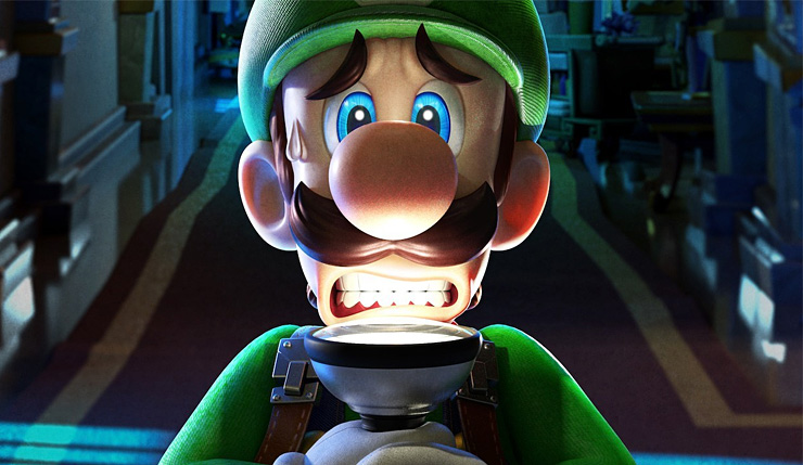 As Origens de Luigi's Mansion