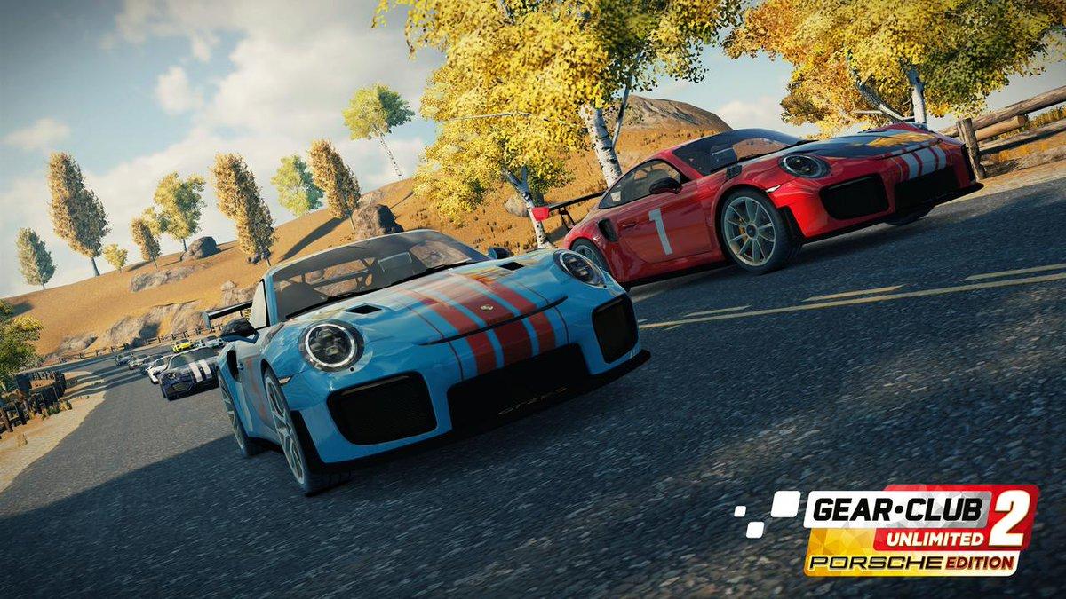 Microïds anuncia Gear.Club Unlimited 2 Porsche Edition para o Nintendo Switch
