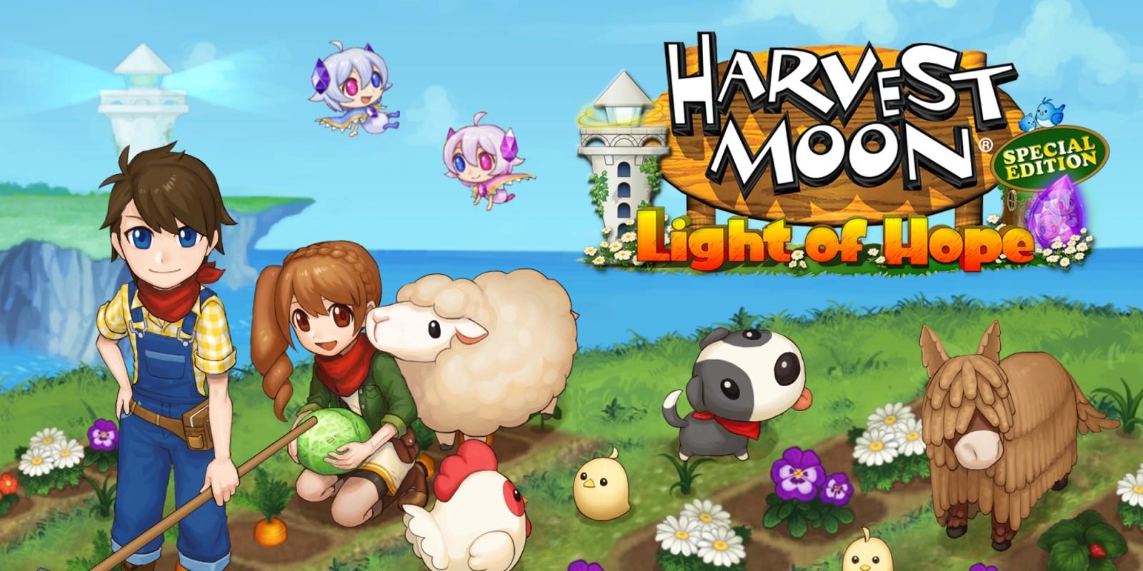 """Natsume está """"muito feliz"""" com as vendas de Harvest Moon: Light of Hope, explicam o motivo de estarem fazendo um spin-off da série"""