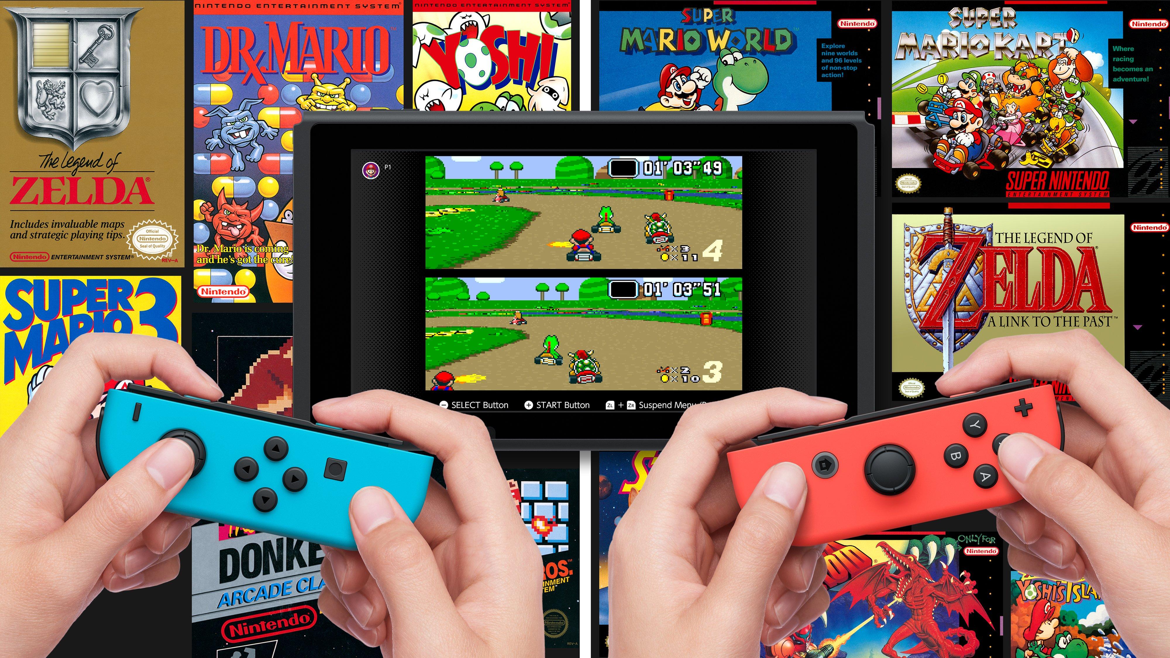 Nintendo anuncia jogos de SNES para os assinantes do Nintendo Switch Online