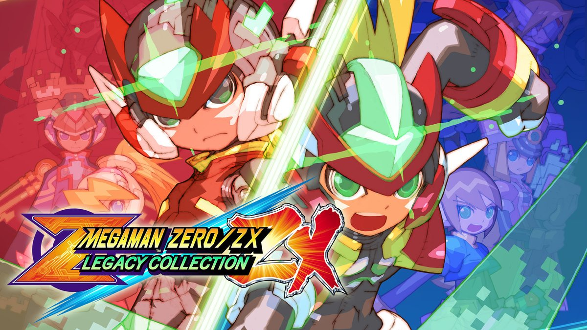 [Switch] Mega Man Zero/ZX Legacy Collection terá todos os seis jogos em um único cartucho