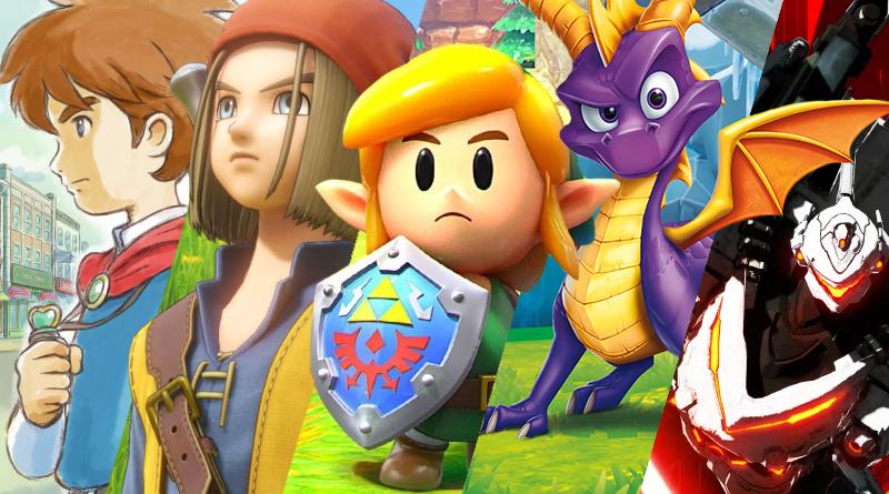 Lançamentos em mídia física para o Nintendo Switch no mês de setembro