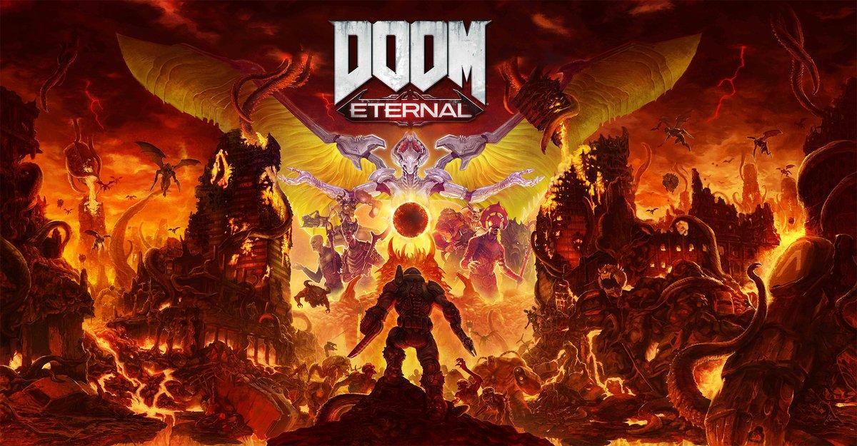 DOOM Eternal e DOOM 64 foram adiados para março de 2020, versão para o Nintendo Switch será lançada após as outras plataformas