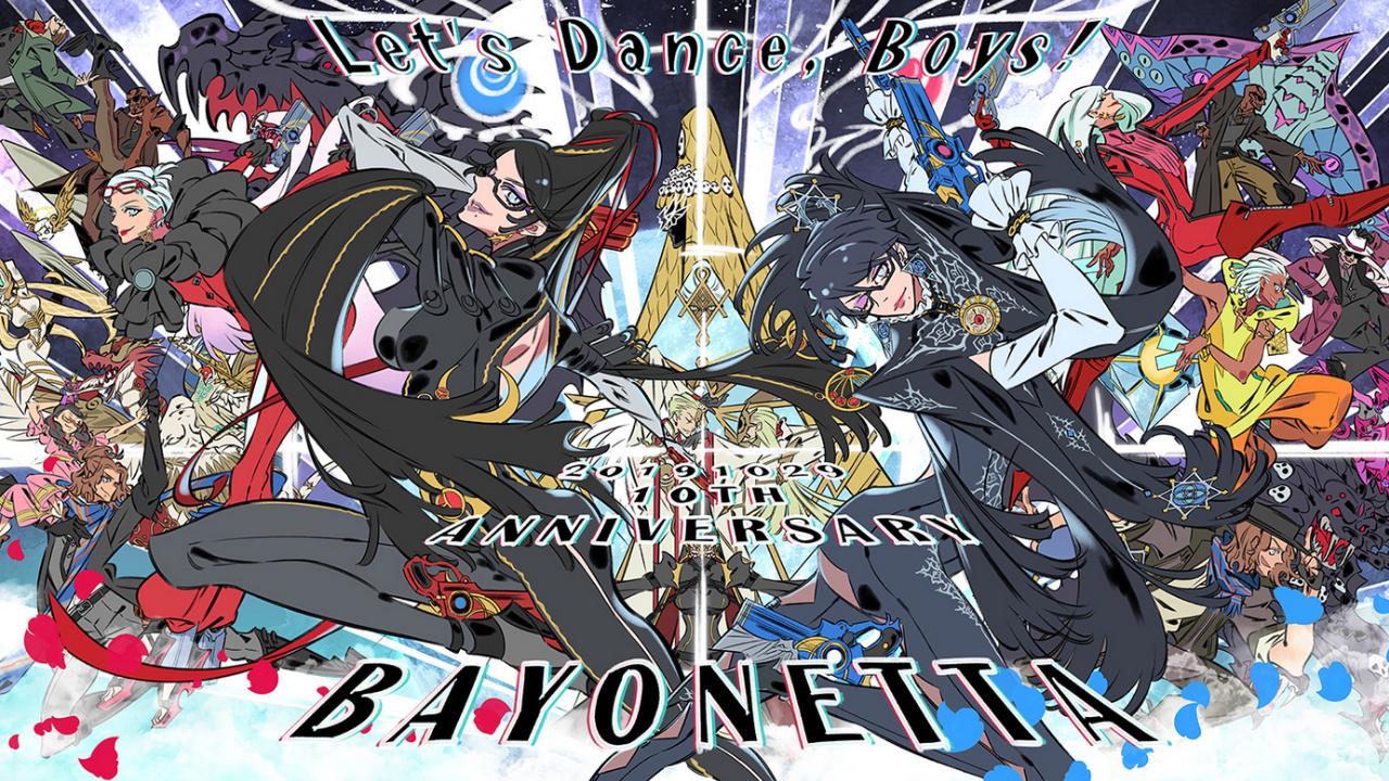 PlatinumGames comemora o 10° aniversário de Bayonetta com arte especial e uma mensagem de Hideki Kamiya para os fãs