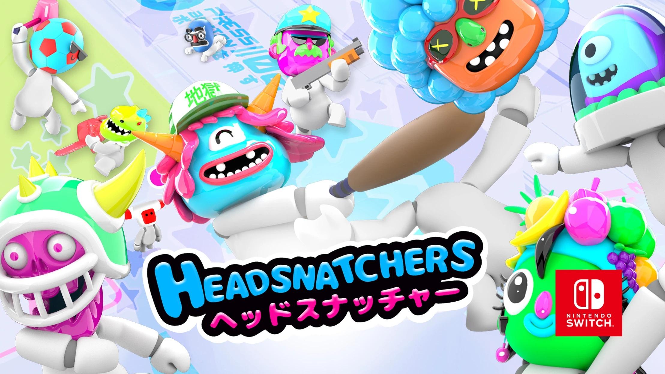 Iceberg Interactive anuncia o Party Game Headsnatchers para o Nintendo Switch