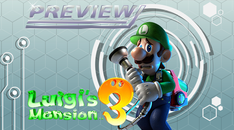[Preview] Luigi's Mansion 3