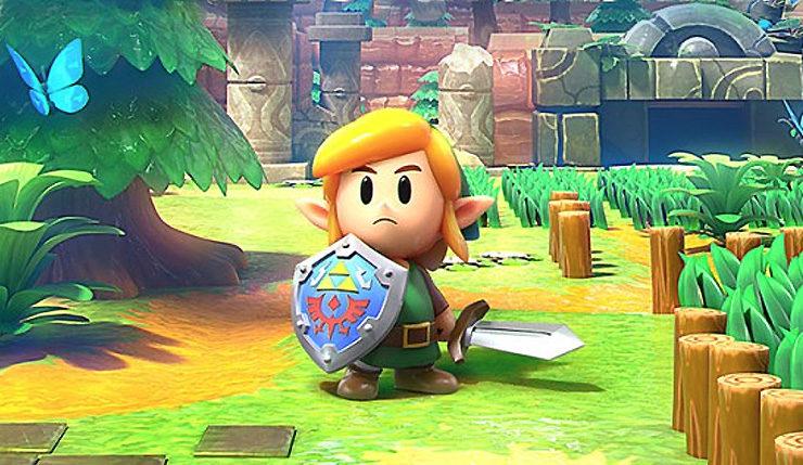 Europa: The Legend of Zelda: Link's Awakening vendeu 430 mil copias em seus três primeiros dias