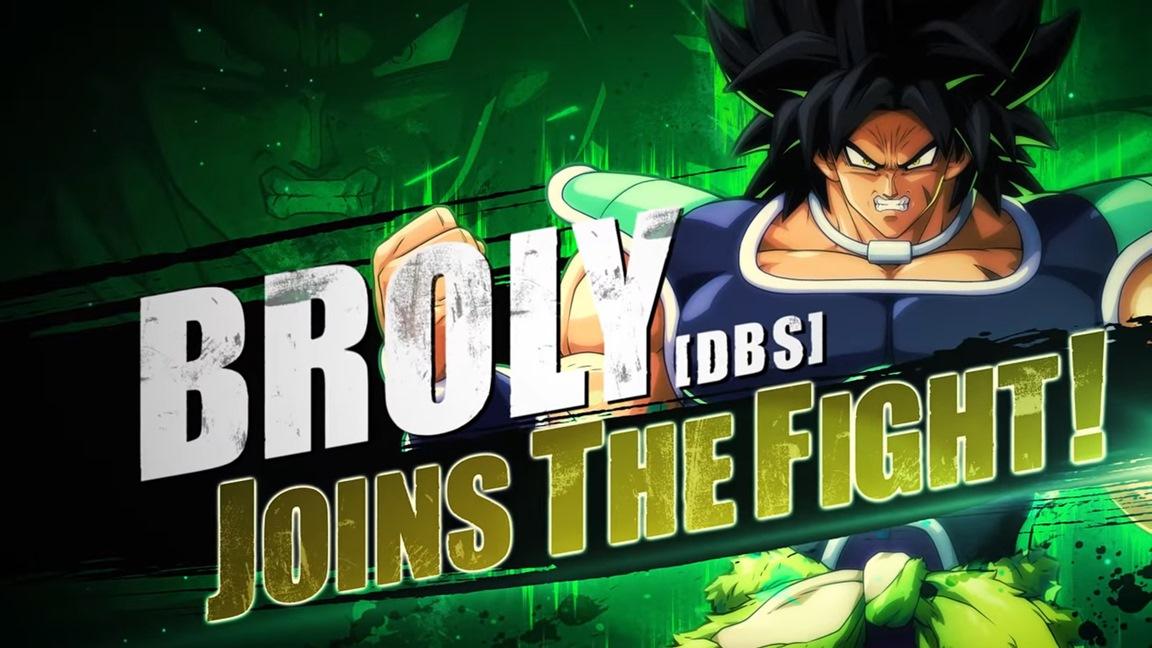 Dragon Ball FighterZ – Broly (DBS) chega na próxima semana como parte do FighterZ Pass 2