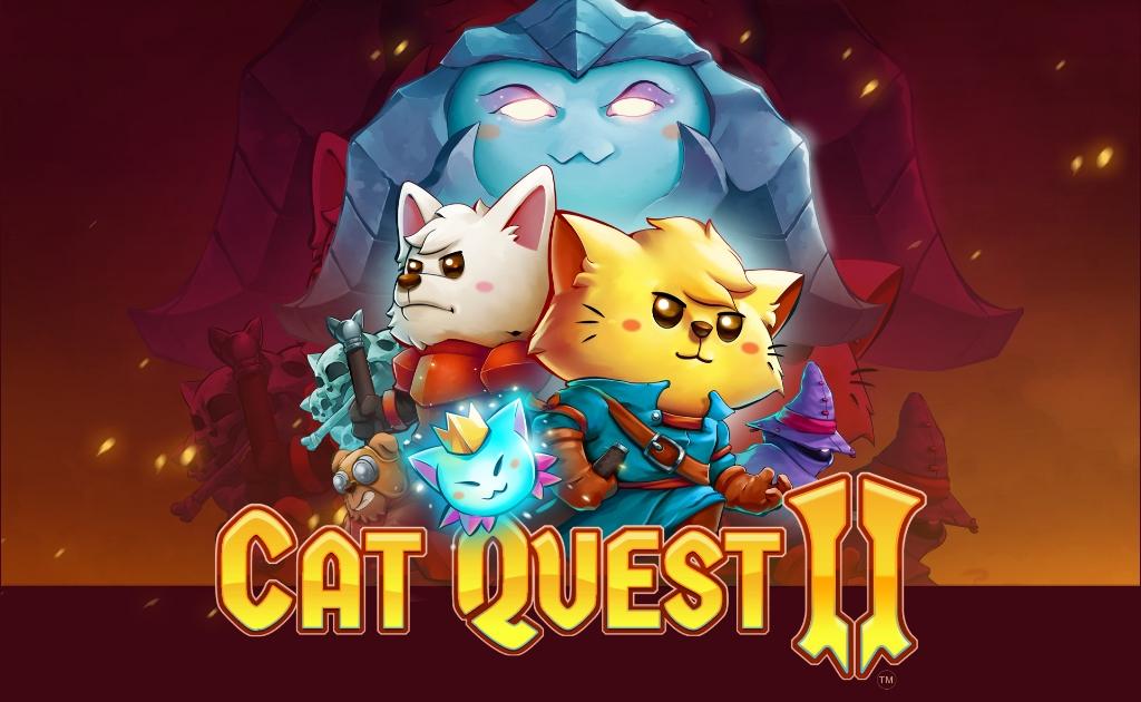 Cat Quest II possui um logo de Cat Quest III no término da campanha sugerindo continuação