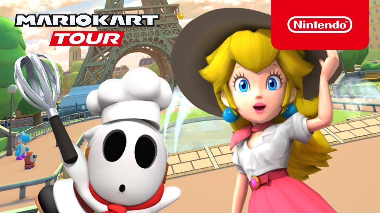 Mobile Mario Kart Tour Trailer Para O Evento Paris Tour Nintendoboy