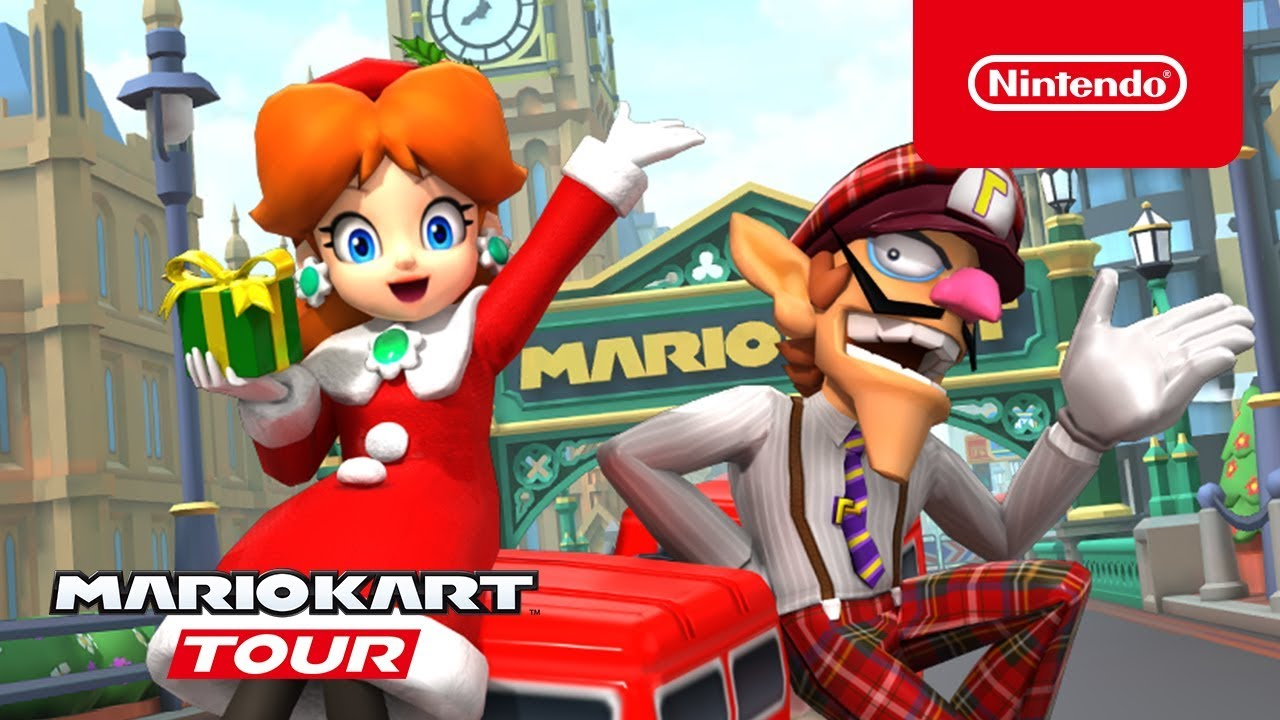 [Mobile] Mario Kart Tour recebe trailer para a Londres Tour