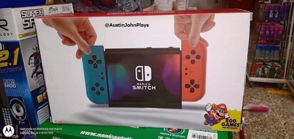 Aleatório: Conheça o Nanica Smitch, o recém lançado clone do Nintendo Switch