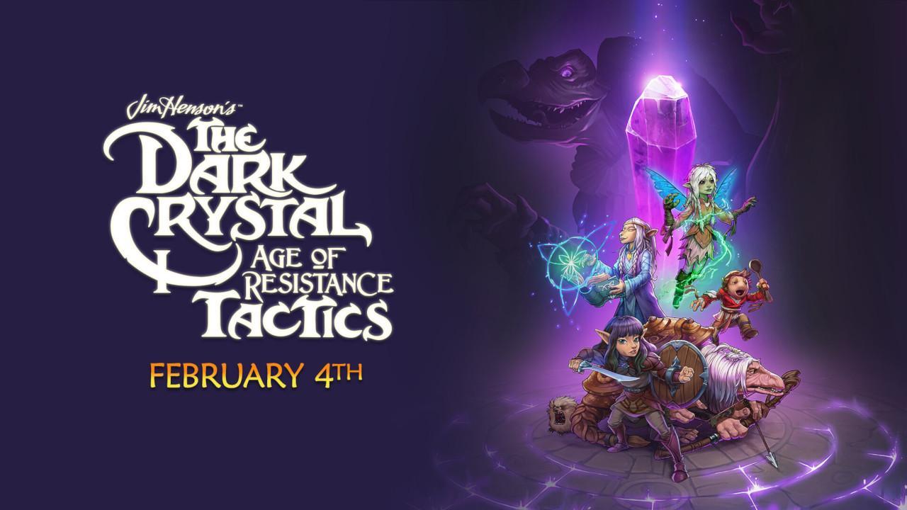 RPG de estratégia baseado na série da Netflix The Dark Crystal: Age of Resistance Tactics chega em fevereiro de 2020 no Nintendo Switch