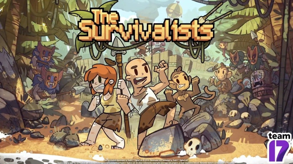 Team17 anuncia o sandbox de sobrevivência The Survivalists para o Nintendo Switch
