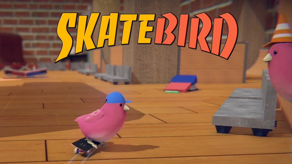Glass Bottom Games anuncia SkateBIRD para o Nintendo Switch