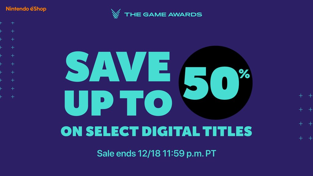 [Switch] Nintendo anuncia descontos de até 50% na eShop para celebrar a The Game Awards 2019
