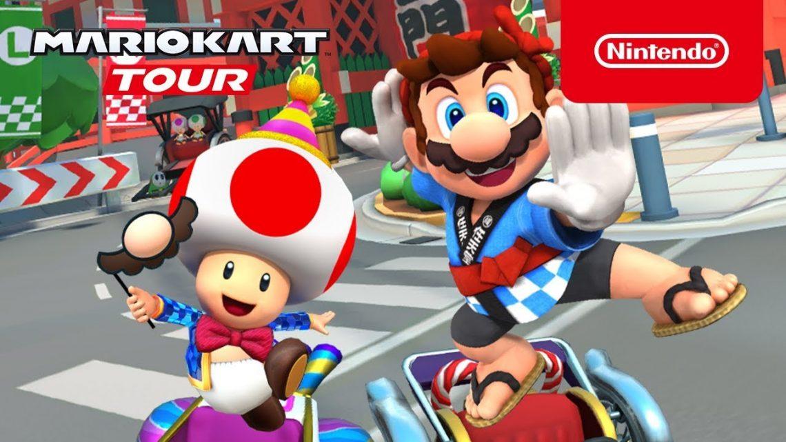 [Mobile] Mario Kart Tour – New Year's Tour chega na próxima semana adicionando nova alt de Mario e Toad, Green Koopa e Red Yoshi