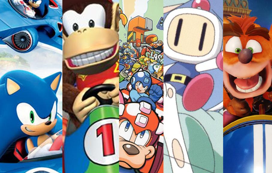 [Artigo] Top-5 clones de Mario Kart