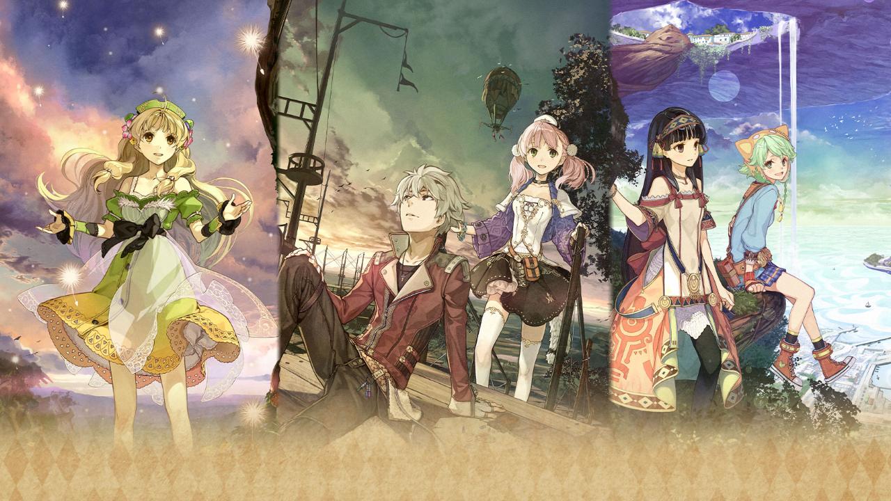 Ásia: Atelier Dusk Trilogy Deluxe Pack terá edição física com os três jogos no cartucho, além de suporte ao inglês